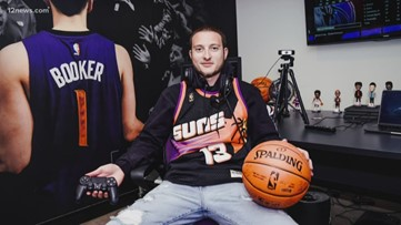 Valley native and pro NBA2K player gets dream opportunity with Phoenix Suns