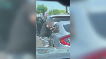 Road rage incident caught on camera in central Phoenix