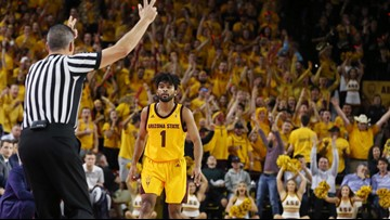 ASU men's hoops team heads to LA as Pac-12 title race tightens