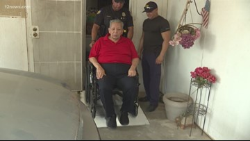 Those Who Serve: Phoenix PD give Valley veteran ramp for his home