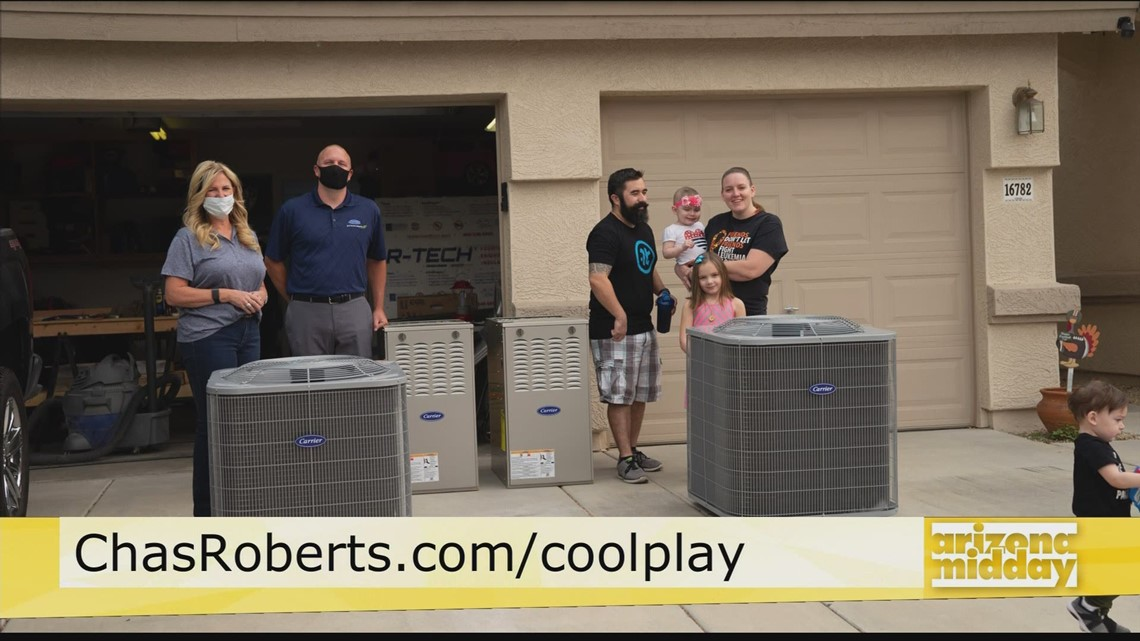 Win a New Air Conditioner from Chas Roberts