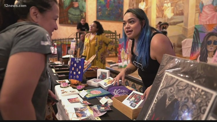 Local Latinas make a difference in the community one handmade item at a time