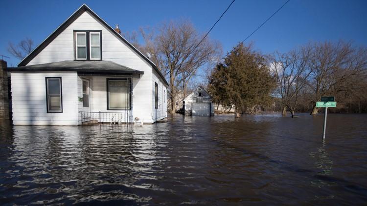 Winter Weather Flooding Illinois