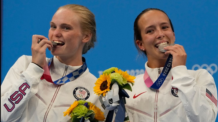 Tucson's Delaney Schnell makes history for Team USA, takes Olympic silver in women's synchronized diving