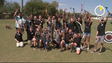 AtoZ60: Gilbert school archery team heads to world competition