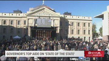 Governor's top aide gives speech preview