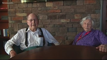 Arizona couple celebrating their 74th Valentine's Day share secrets to a happy marriage