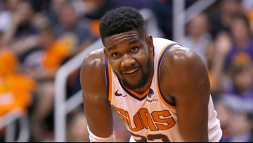 Suns center Deandre Ayton suspended for 25 games after testing positive for diuretic