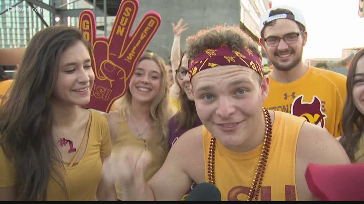 ASU fans flock back to Sun Devil Stadium after year of COVID-19 restrictions