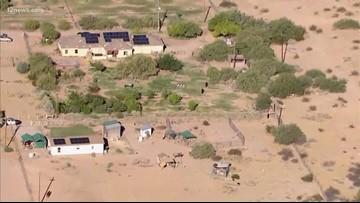 8-year-old injured on zip line near Buckeye