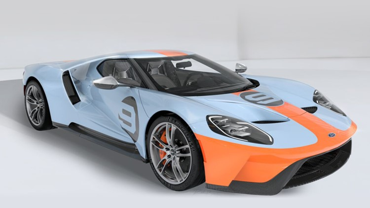 2019 ford gt heritage editionvin 1