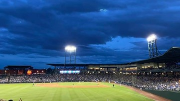 Here's how Arizona rain is affecting Cactus League spring training games Thursday