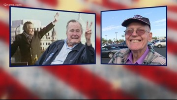 Valley residents remember former President George H.W. Bush