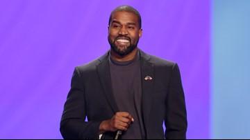 Fans attend Kanye West's performance at Arizona State University's Sun Devil Stadium