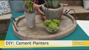 DIY: Cement Planter