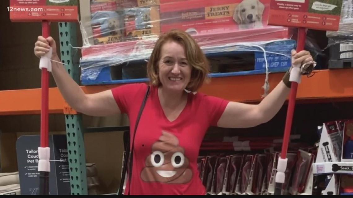 Woman invents sustainable pooper scooper; Arizona Costcos now selling it