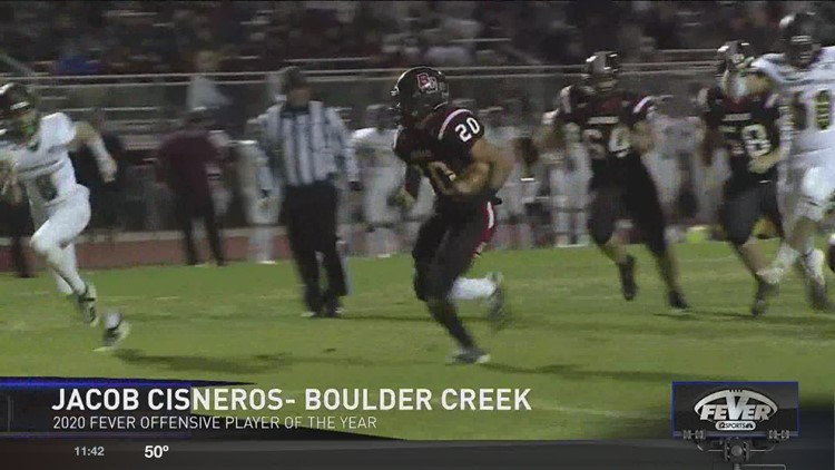 Friday Night Fever Offensive Player of the Year: Jacob Cisneros, Boulder Creek