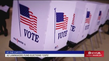 Arizona elections bill creates voter fraud hotline, allows police in polling places