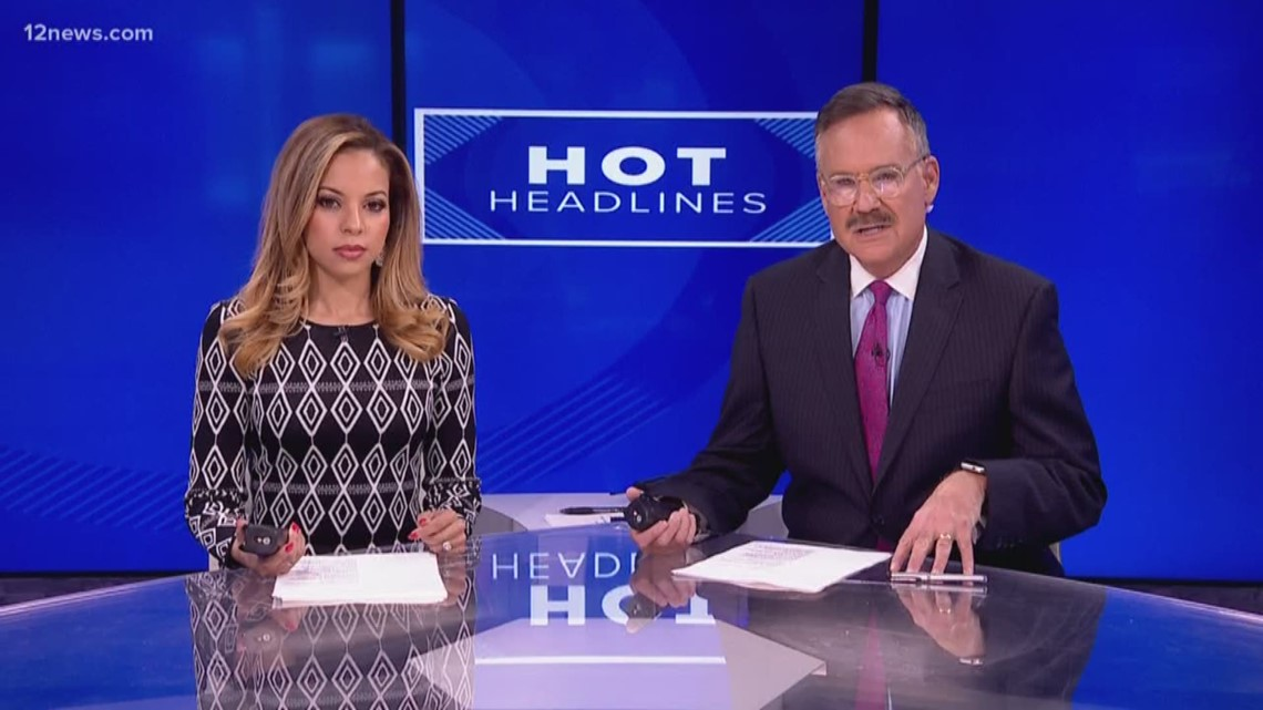 'Hot Headlines' on Friday afternoon