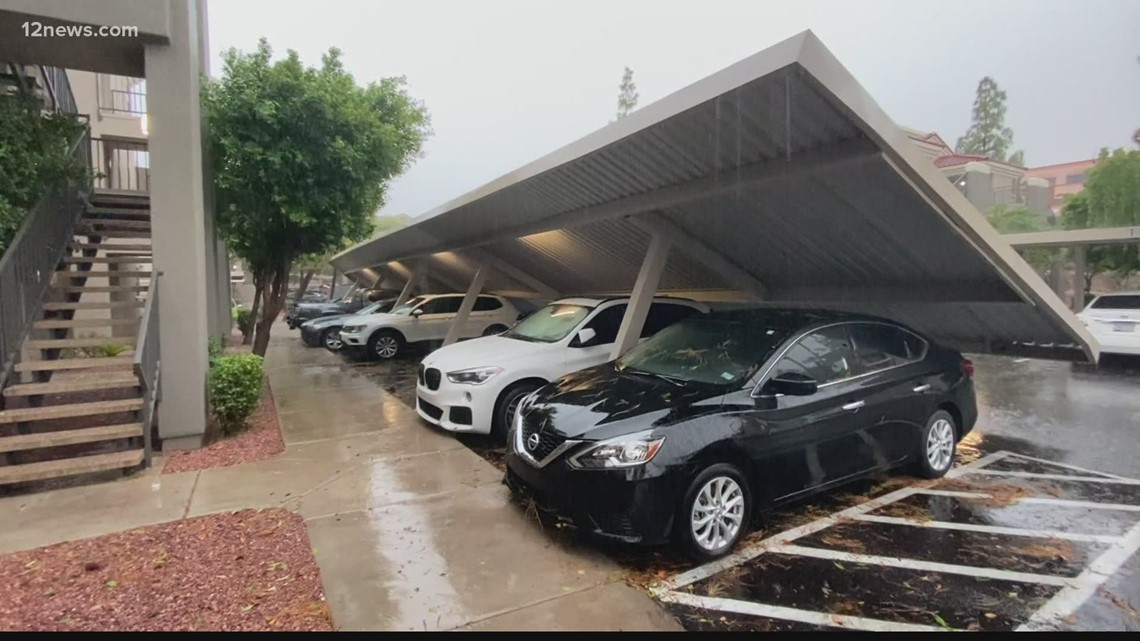 Tracking the severe storms that moved across the Valley Friday