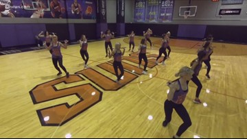 Everywhere A to Z: Krystle Henderson joins the Phoenix Suns dance team