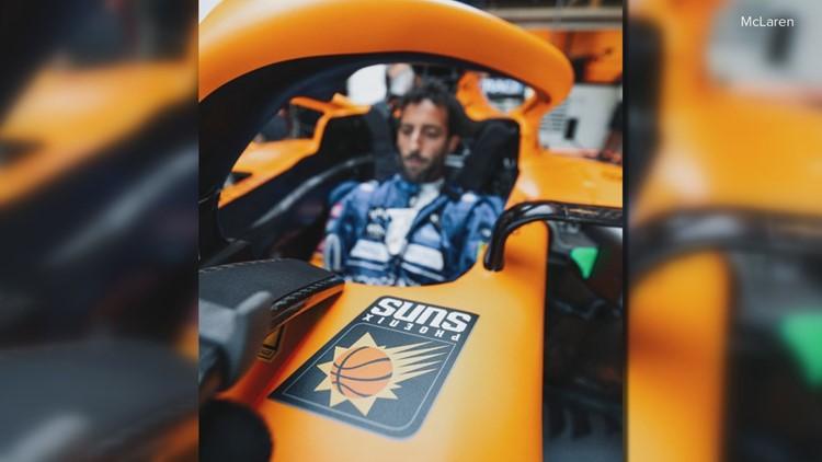 McLaren Formula 1 team supports Phoenix Suns, teams connected through Jahm Najafi