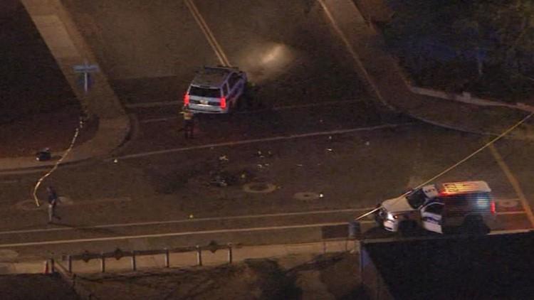Dirt bike rider dies after crashing into Phoenix police SUV