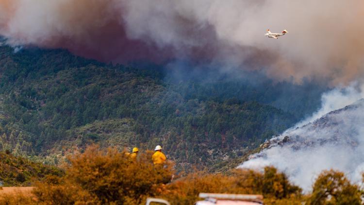 La contención del Telegraph Fire aumentó a un 87% pero ha afectado a más de 180,000 acres