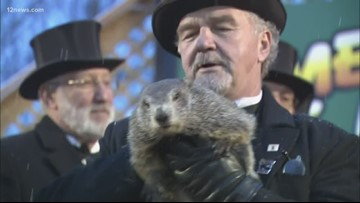 An early spring is coming. Punxsutawney Phil saw his shadow on this year's Groundhog Day