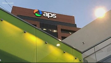 Did APS use customers' money to campaign against Red for Ed?