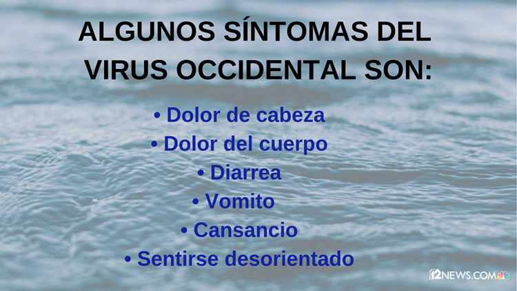 Síntomas del virus del Nilo Occidental