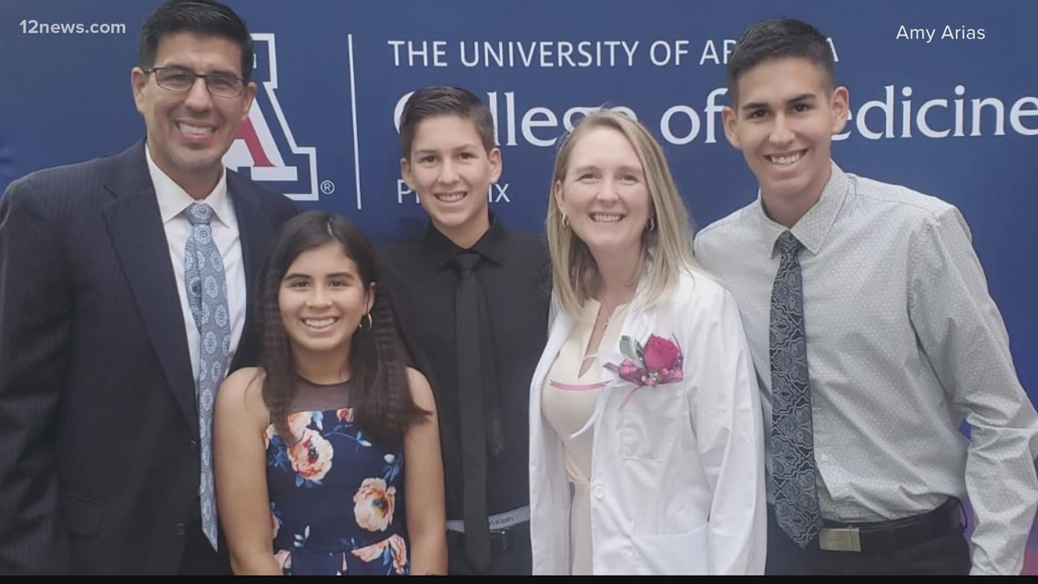 Valley mom of 3 inspired by unexpected medical concerns to switch careers and become a doctor