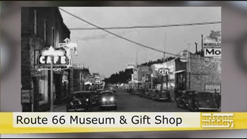 See a part of history at the Route 66 Museum & Gift Shop