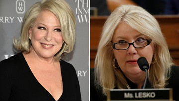 Arizona Rep. Debbie Lesko trades Twitter barbs with Bette Midler over impeachment