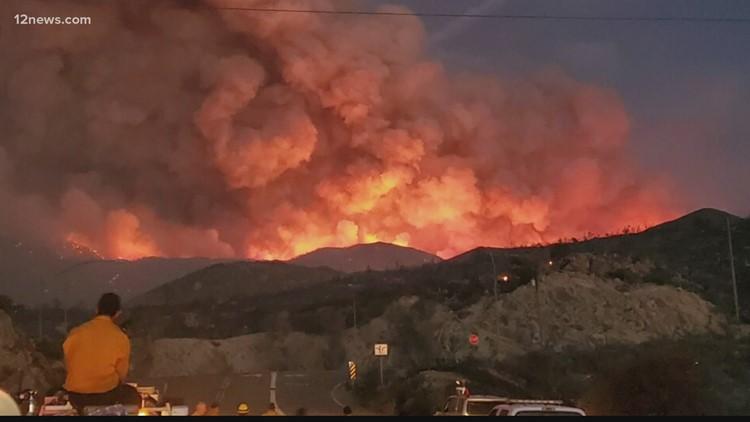 Se han quemado más acres en Arizona que en otros 4 estados juntos con más acres quemados, dicen funcionarios
