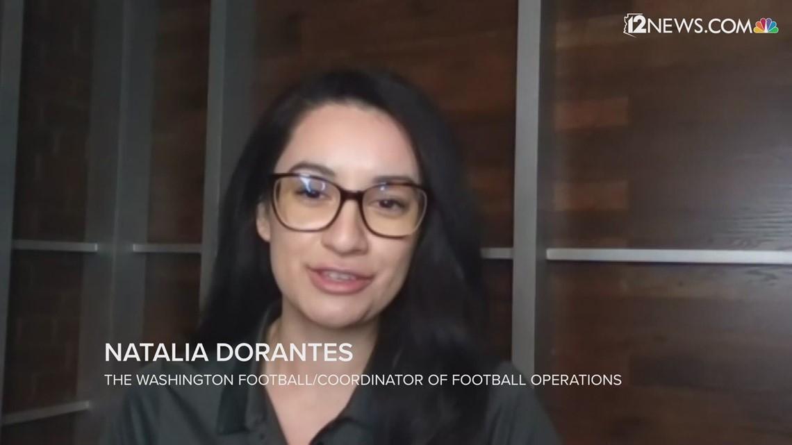 12 News Deportes: Natalia Dorantes hace historia en la NFL al ser la primera mujer latina en su puesto