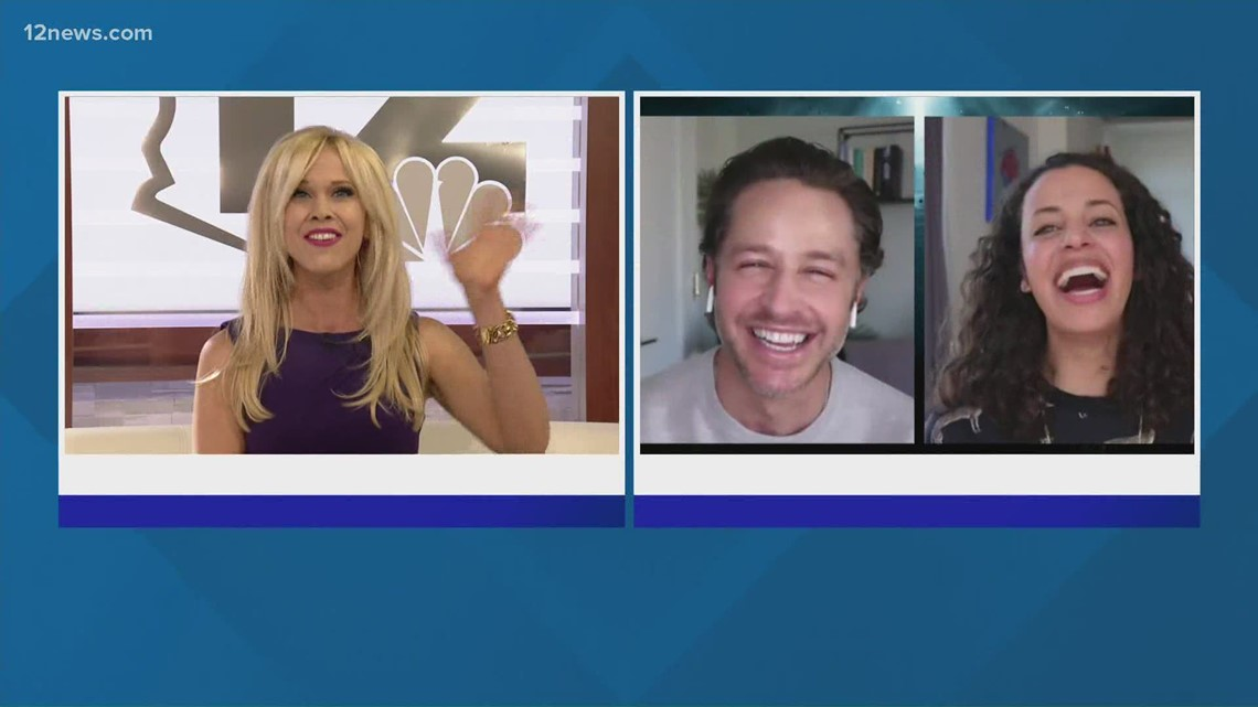 12 News' Krystle Henderson speaks to cast of NBC drama 'Manifest'