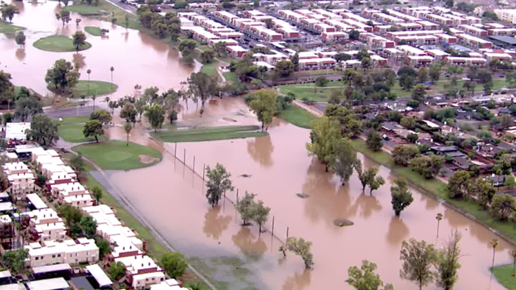 LIVE UPDATES: Phoenix tops out at just 83 degrees during monsoon storm