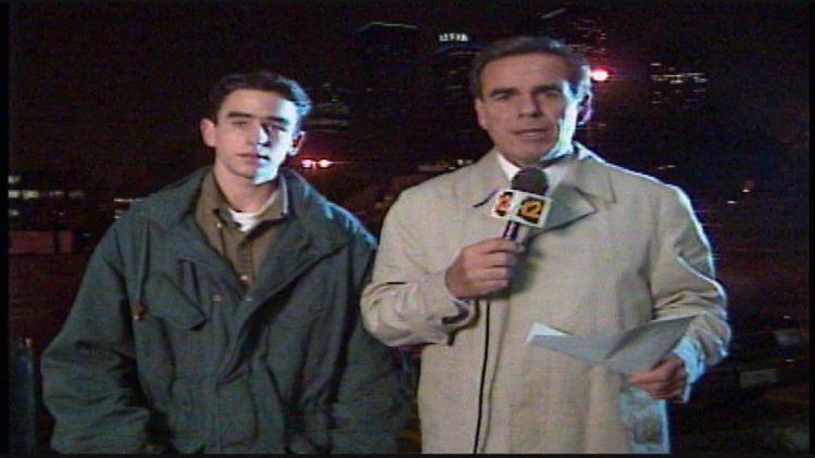 Father's Day Flashback: Kent Dana interviews son Joe Dana during 1995 newscast