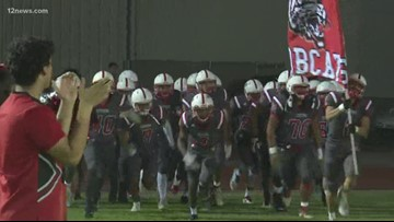 Maricopa defeats Central High School 49-12