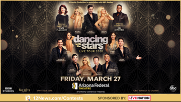 TODAY IN AZ DANCING WITH THE STARS SWEEPSTAKES