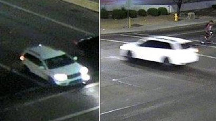 Police searching for SUV after 25-year-old found shot