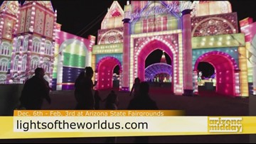 Lights of the World Brightens The Holidays In Phoenix