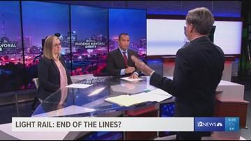 Phoenix mayoral candidates on light rail expansion