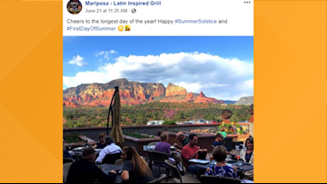 2 Arizona restaurants featured on list of 'most scenic' restaurants in the country