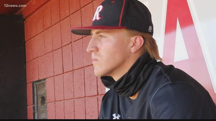 Desert Ridge senior takes an incredible journey to play baseball