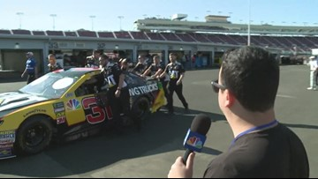 """Comedian Mike Turner finds out what's so """"American"""" about NASCAR"""