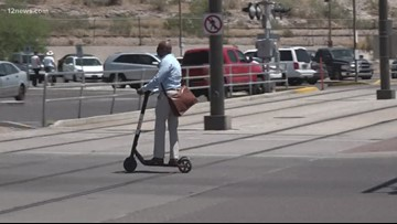 The rules for riding an electric scooter or bike in Tempe