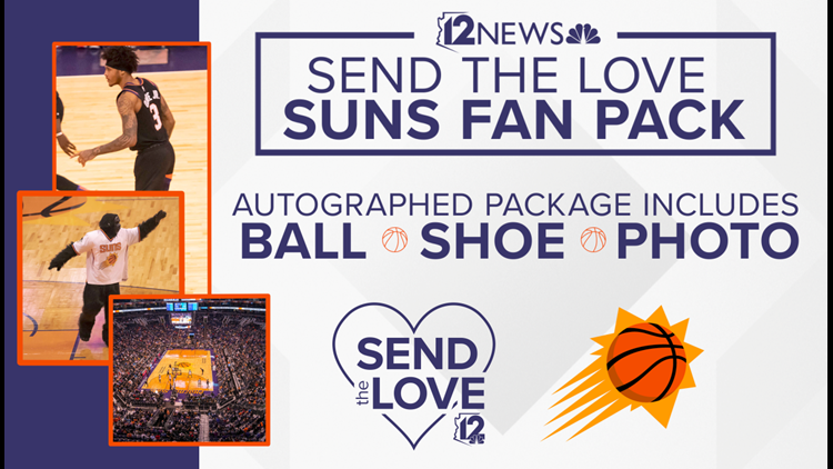 CONTEST ENDED SEND THE LOVE SUNS FAN PACK