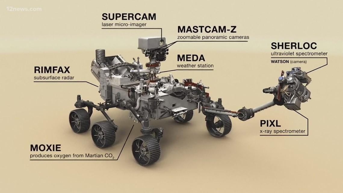A rover with Arizona ties heads to Mars